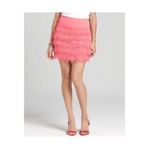 Ann Taylor Coral Skirt 2P NWT